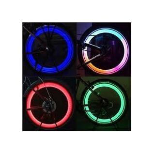 Eclairage roues de vélo