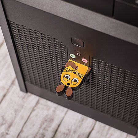 USB 4GB in eigen vorm