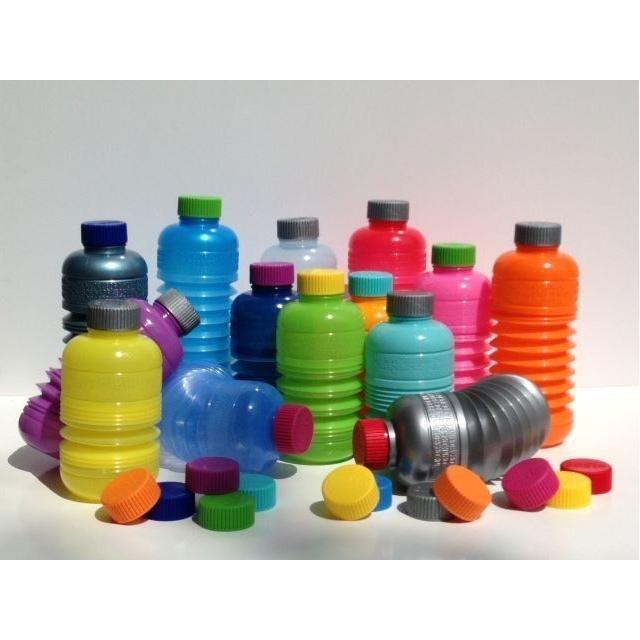 Harmonica waterfles in elke gewenste kleur