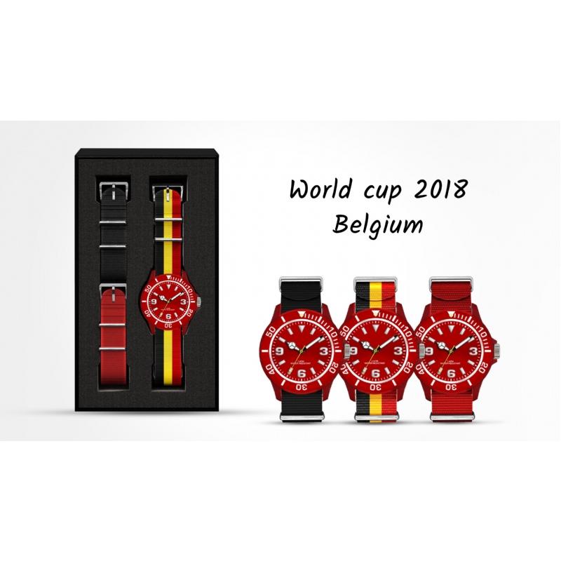 Maak je eigen horlogeset met de Belgische kleuren