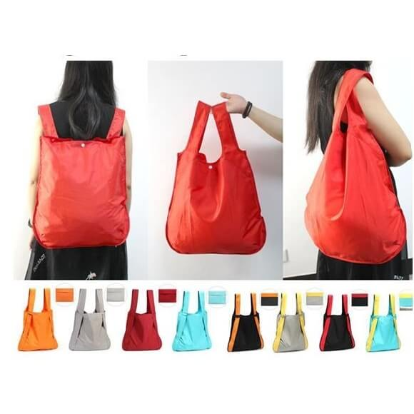 2 in 1 nylon tas