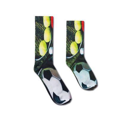 Polyester sokken all over bedrukt