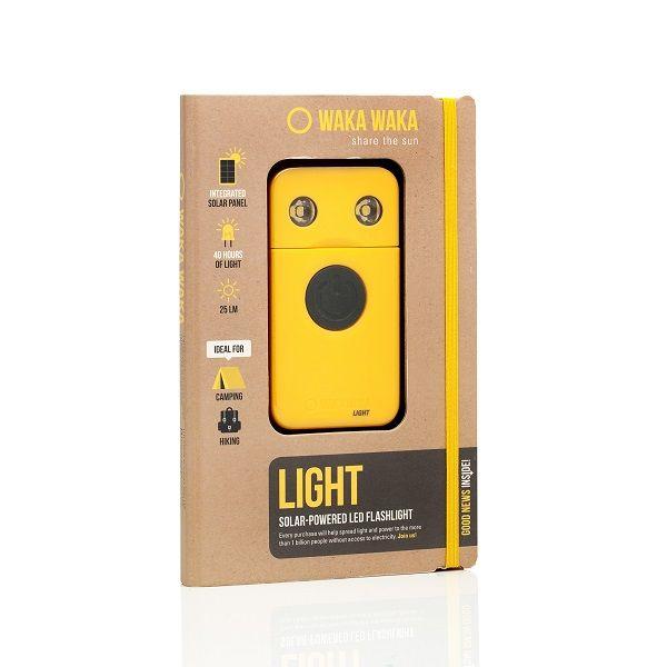 WakaWaka, de meest efficiënte solar-led lamp ter wereld.