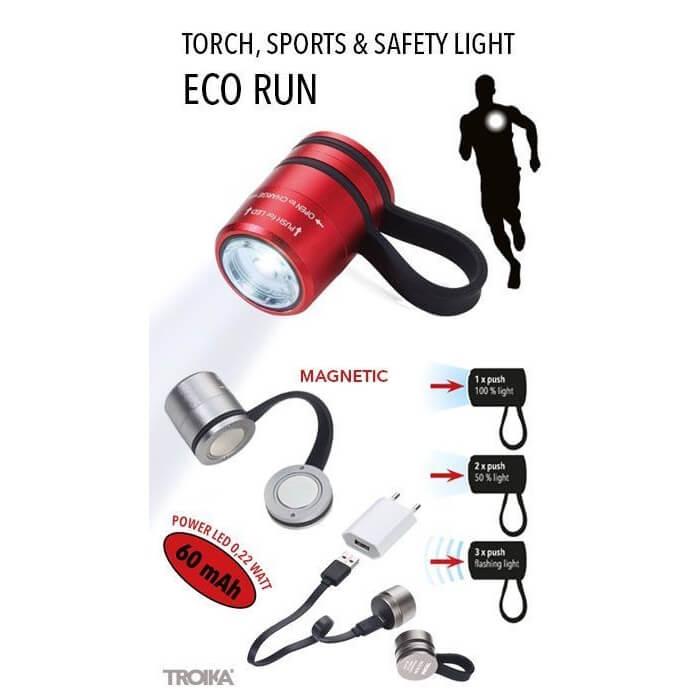 Veiligheidslampje Eco run