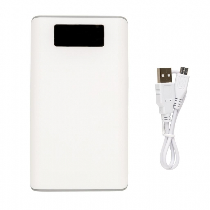 10000 mAh powerbank met display