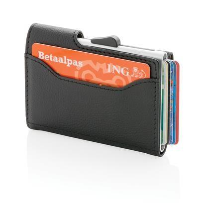 Veilig over straat! -  Aluminium RFID kaarthouder & portemonnee