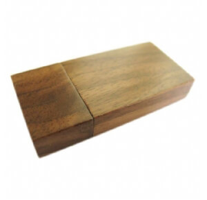 Clé usb en bois
